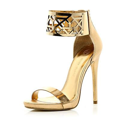 Photo of 75£ shoes available on riverisland.com – Golden Goddess