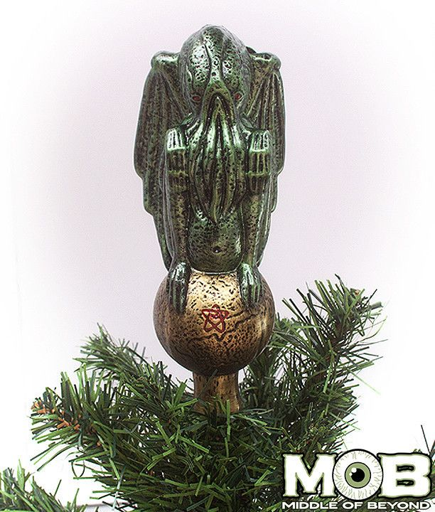 Cthulhu Glass Tree Topper | Cthulhu and Hp lovecraft