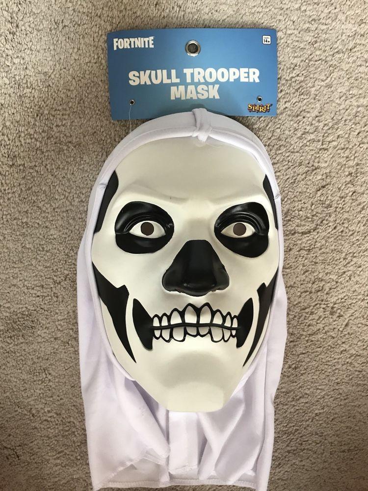 New Fortnite Spirit Skull Trooper Mask Halloween One Size