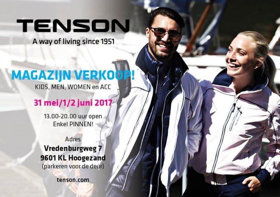 8f74b8d9563cf9 Tenson Magazijnverkoop -- Hoogezand -- 31/05-02/06 | Sample Sales ...