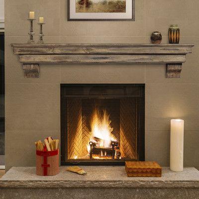 Pearl Mantels Celeste Fireplace Shelf Mantel Finish Dune Shelf Length 72 Fireplace Mantel Shelf Fireplace Shelves