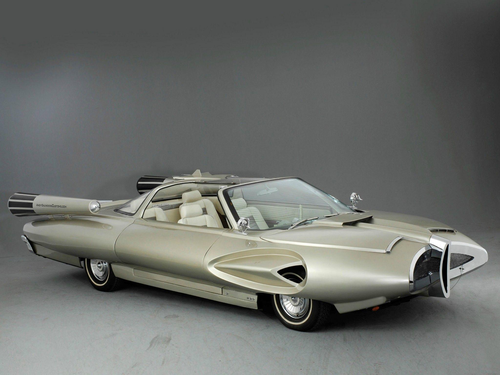 Car 1958 Ford X 2000 Concept Concept Cars Vintage Concept Cars