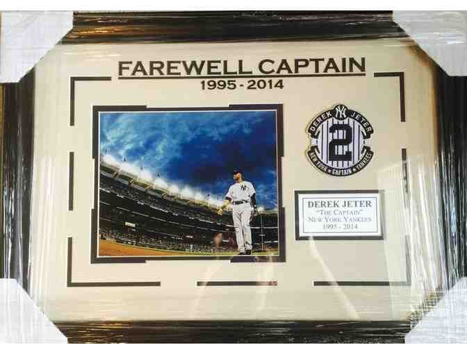 'Farewell Captain' Derek Jeter Framed Piece