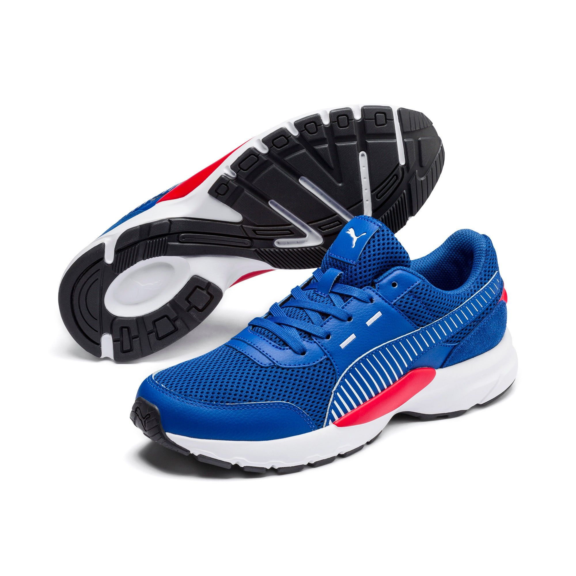 PUMA Chaussure de course Future Runner Premium, BleuNoir