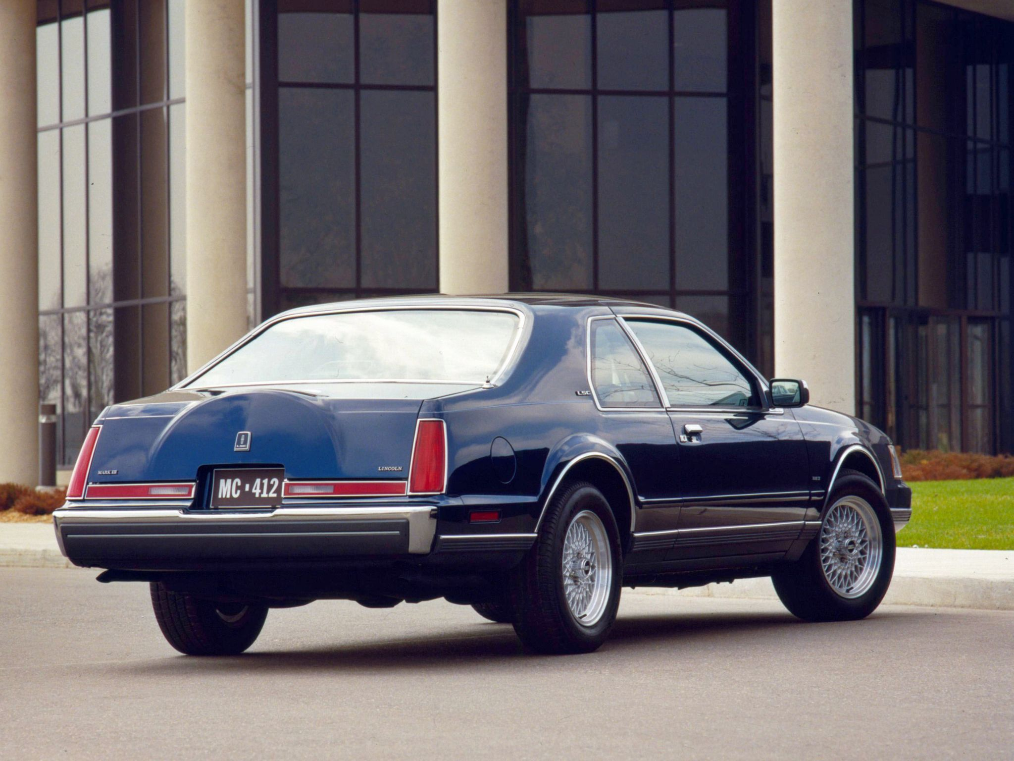 Lincoln Mark Vii Lsc 1984 92 Lincoln Cars Lincoln Continental Ford Motor Company