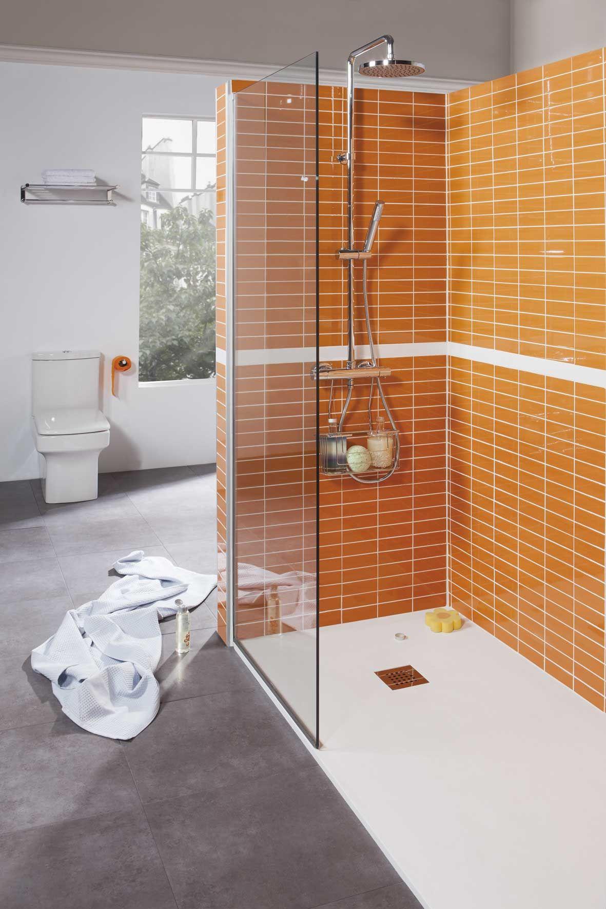 Plato de ducha podio extraplano y recortable a medida for Plato para ducha cuarto bano