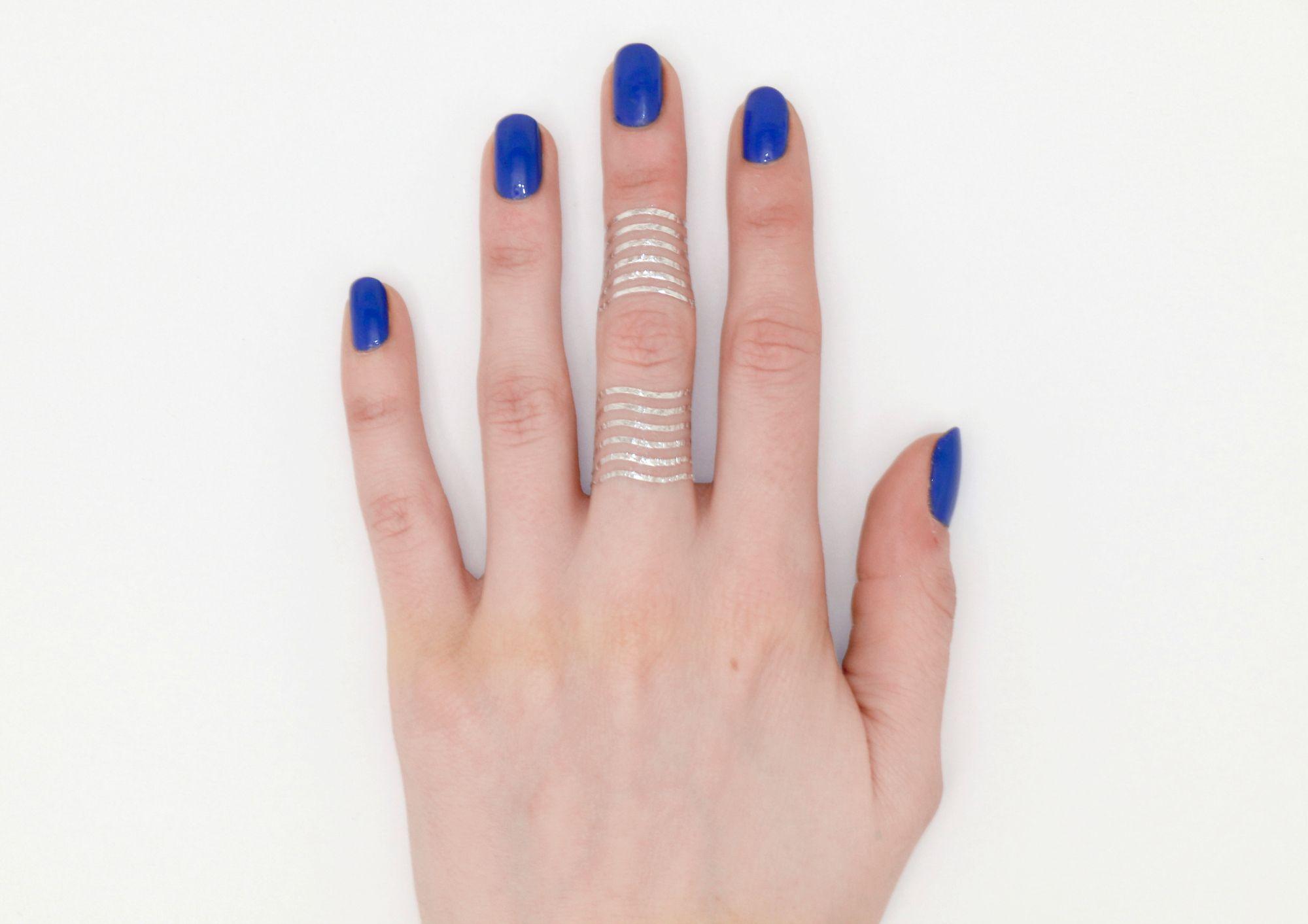 Flash tattoo cage ring!