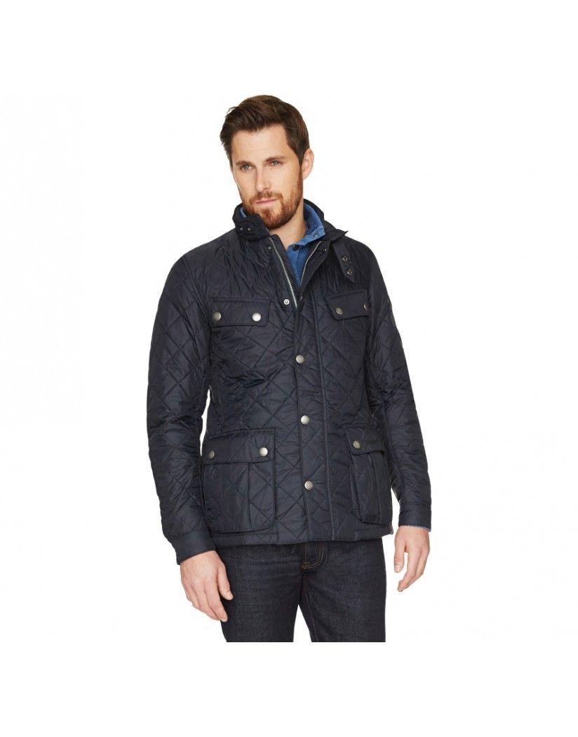 Barbour International Men's Ariel Quilt Jacket - Navy MQU0251NY91 ... : barbour international quilted - Adamdwight.com