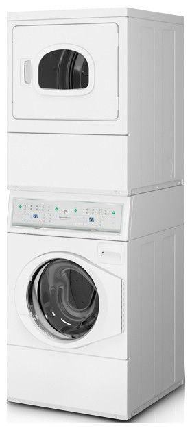 Atge9agp113tw01 Speed Queen Gas Stacked Washer X2f Dryer White