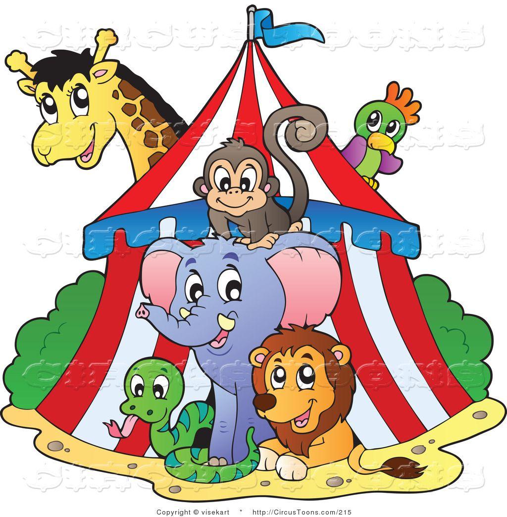 Circus Animals Royalty Free Circus Clip Art Of A Big Top Circus Animal Posters Circus Animals Vintage Circus Posters