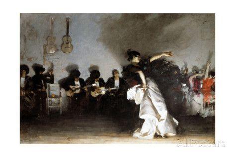 El Jaleo, 1882 Giclee Print by John Singer Sargent at AllPosters.com