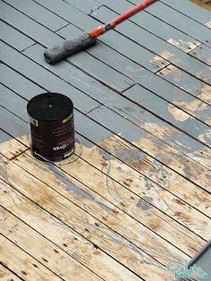 Behr DeckOver Review: Making An Old Deck To Look New. Wood DecksPainted  Outdoor ...
