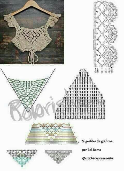 Otro modelo | entretejido | Pinterest | Modelado, Tejido y Ganchillo