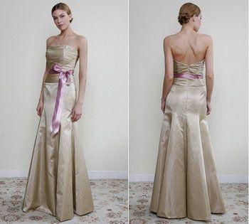 Wedding, Pink, Bridesmaids, Jim hjelm, Gold