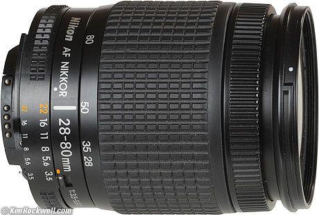 Nikon 28 80mm Af D Nikon Camera Photography