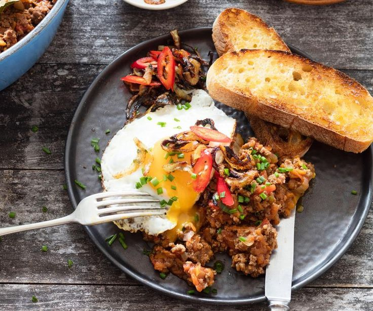 Hearty and delicious, Nici Wickes' mince on toast recipe is a great start to...   - recipes -
