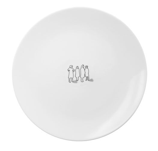 Tug Dinner Plate by Ink Dish - Spark Living - online boutique for unique home decor, gifts and accessories $25.00