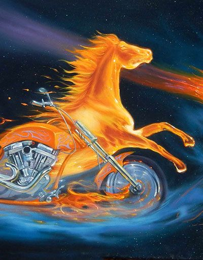 Ride the Fury - by Jim Warren
