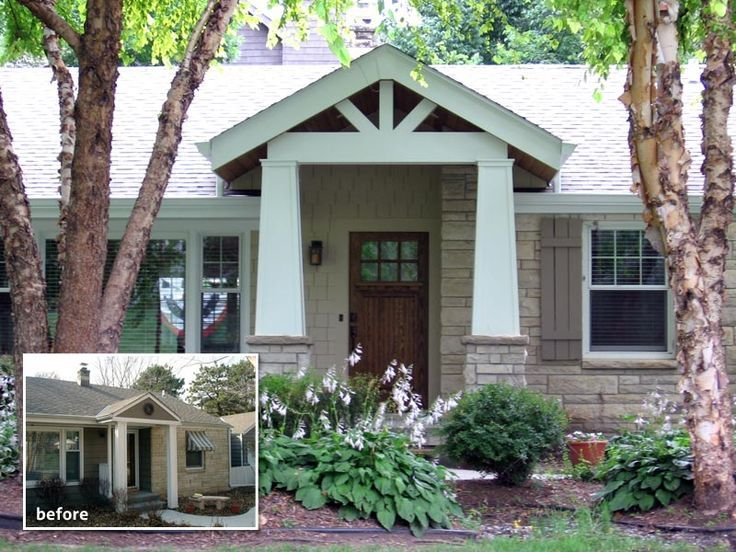 front porches fixes for ranches | Front Porch Designs For Ranch Homes | Straightline Design, Inc ...