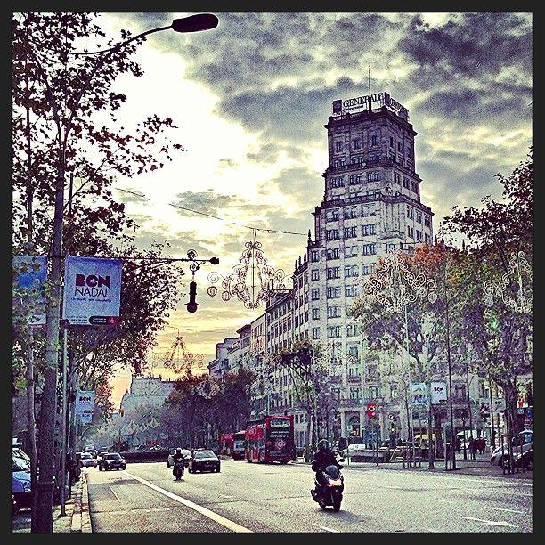 Passeig de Gràcia στην πόλη Barcelona, Cataluña