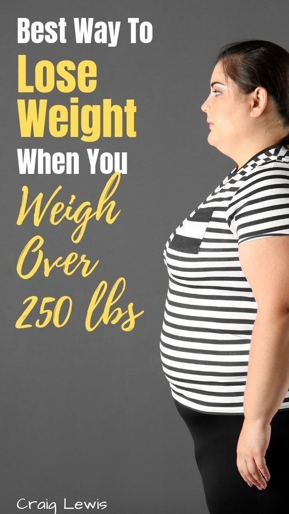 Learning how to lose weight when you weigh 250 pounds or more is one…