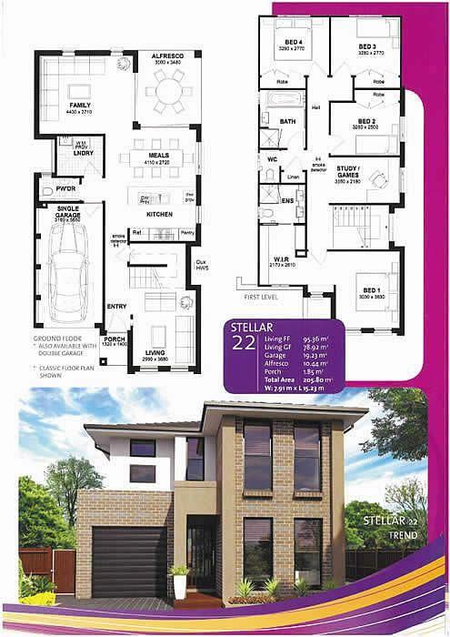 home-designs-for-narrow-blocks-sydney | Home Ideas and Design ...