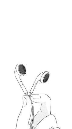 Lockscreens Tumblr Music Drawings Outline Drawings Drawings