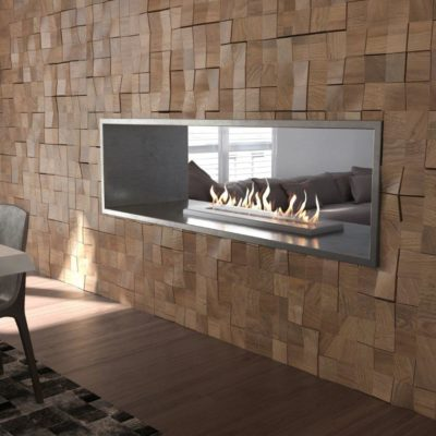 Grand Xl Double Sided 400x400 Bioethanol Fireplace Ethanol Fireplace Modern Fireplace