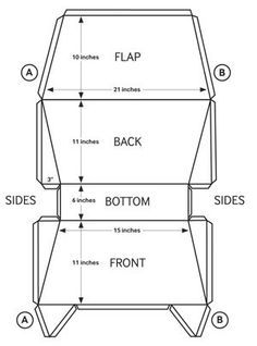Craft Corner - DIY Messenger Bag | Discover more ideas about Diy ...