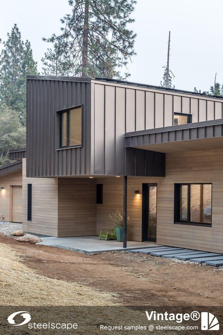 5 Stunning Metal Homes In 2020 Metal Homes Metal Roof Metal Siding