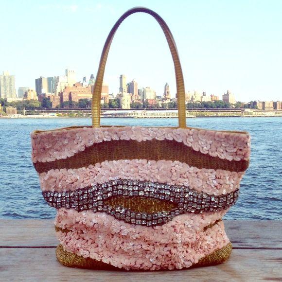 Valentino Garavani Handbags - Vintage Valentino Bead and Crystal Encrusted bag