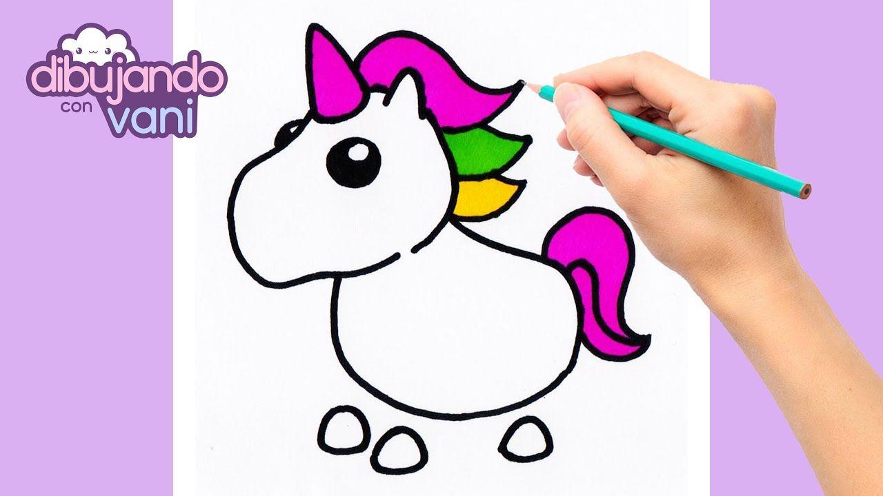 Como Dibujar Al Unicornio De Adopt Me Roblox Dibujos De Roblox Dibuj Dibujos Kawaii Dibujos Como Dibujar Cosas Kawaii