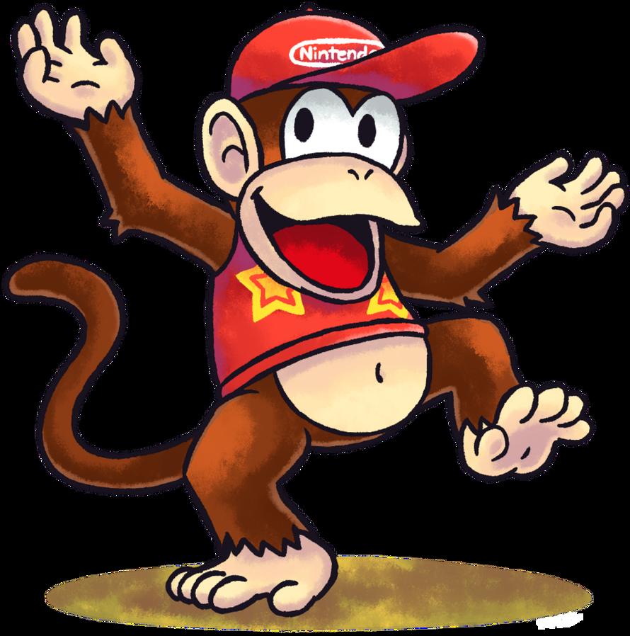 Mario Luigi Rpg Style Diddy Kong By Mast3r Rainb0w Mario And Luigi Diddy Kong Mario