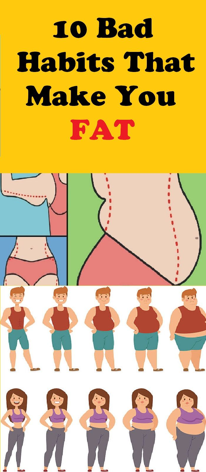 10 Habits That Make You Fat pictures