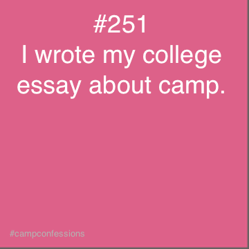 summer camp counselor essay