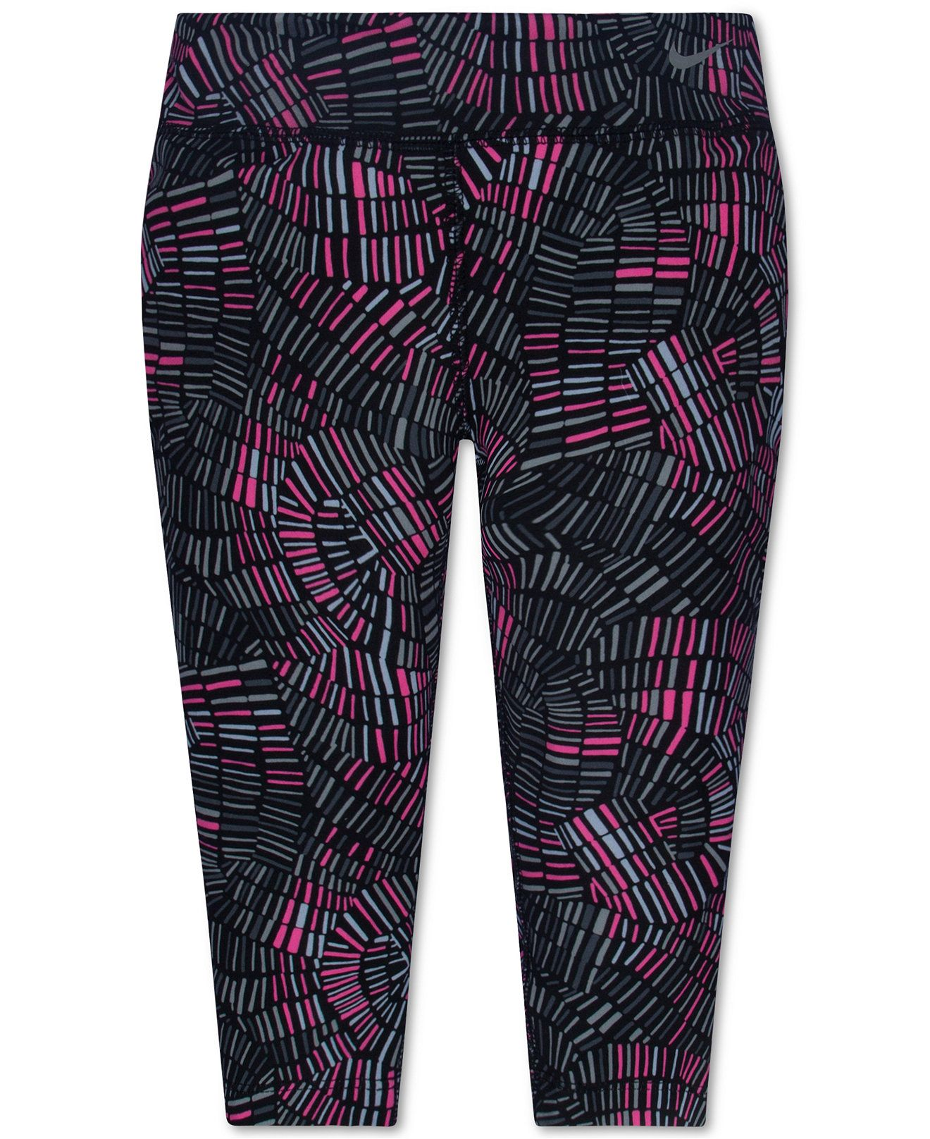 a31090d8e Nike Little Girls' Graphic-Print Athletic Pants - Activewear - Kids & Baby  - Macy's