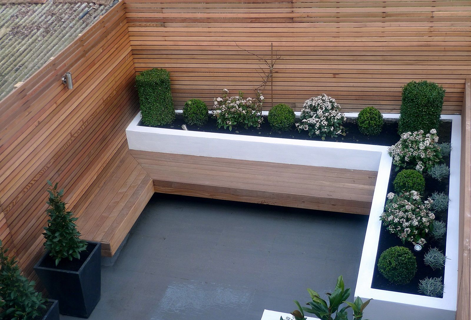 Wonderful Garden Design Designer Clapham Balham Battersea Small Low Maintenance  Modern Garden (5) Awesome Ideas