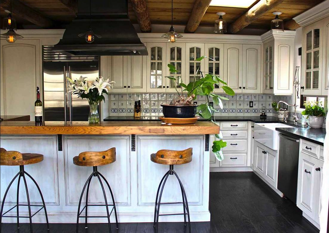 Santa Fe Kitchen | French country kitchens, Elegant dining ...