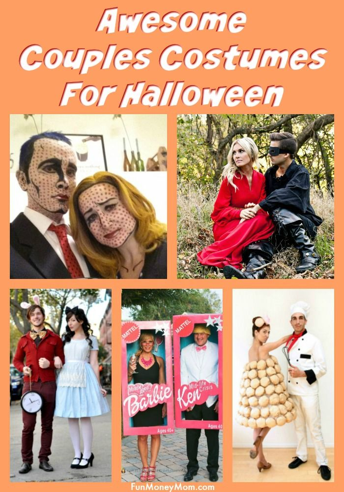 13 Fun  Creative Halloween Costumes For Couples All Things