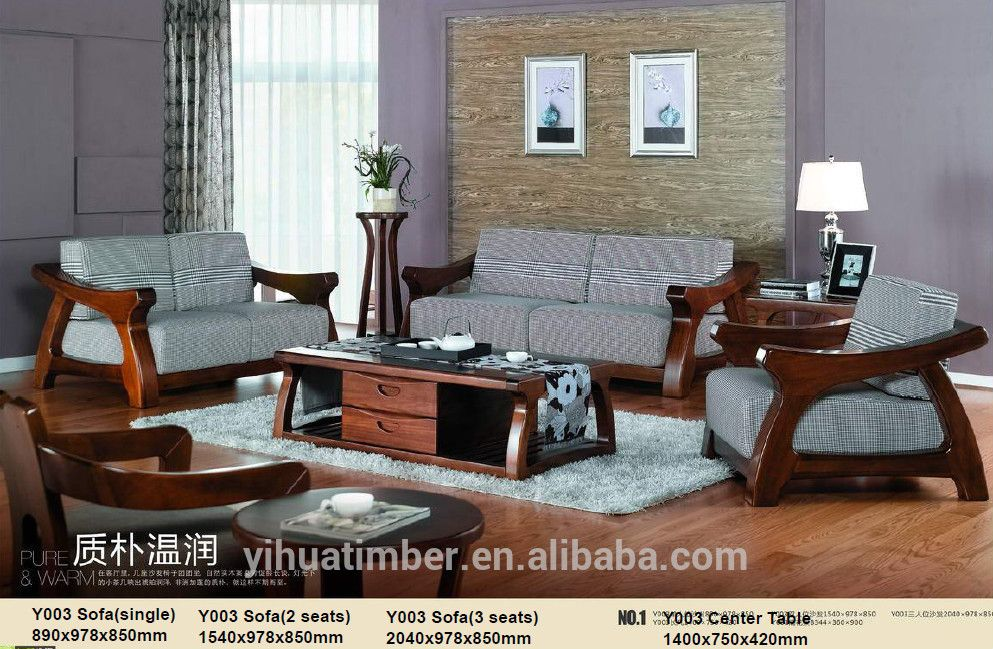 wooden sofa furniture Living Room Sofas sofas home furniture View