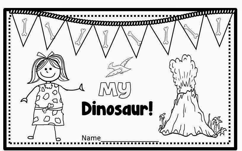 Freebie Emergent Reader (Dinosaurs with Color Words).