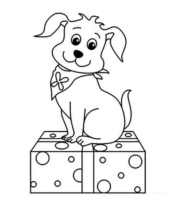Read moreCute Christmas Puppy Coloring Pages | Christmas ...