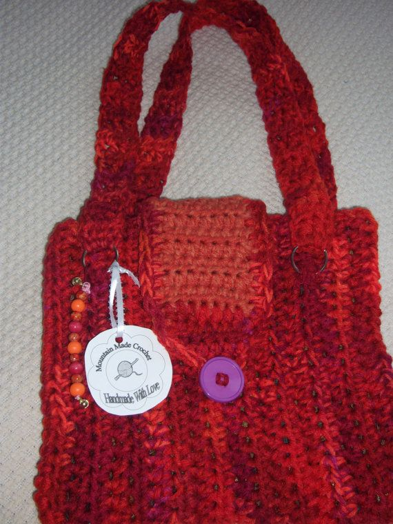 Shades of Orange and Red MultiColor Crochet by MountainMadeCrochet, $45.00