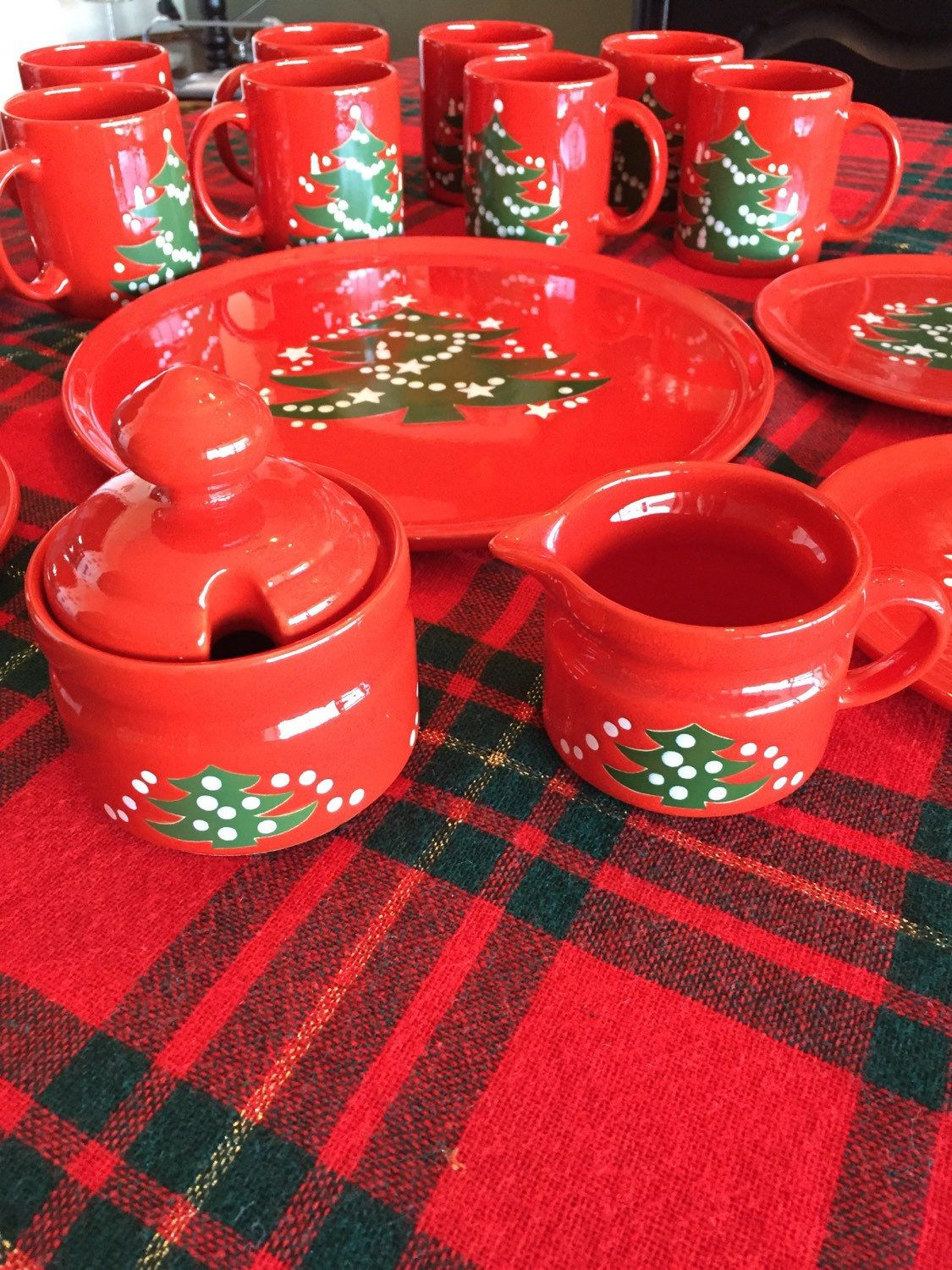 Waechtersbach Christmas Dishes | Dishes, Christmas dishes and Etsy