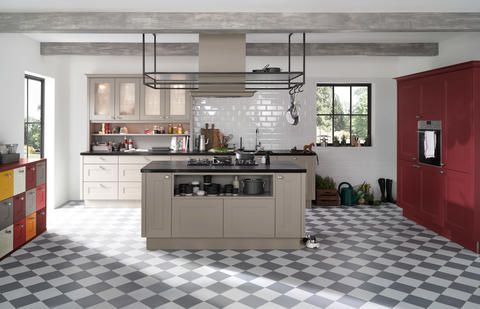 Country Kitchen: Interpreted In A Contemporary Manner Nolte Kuechen.de