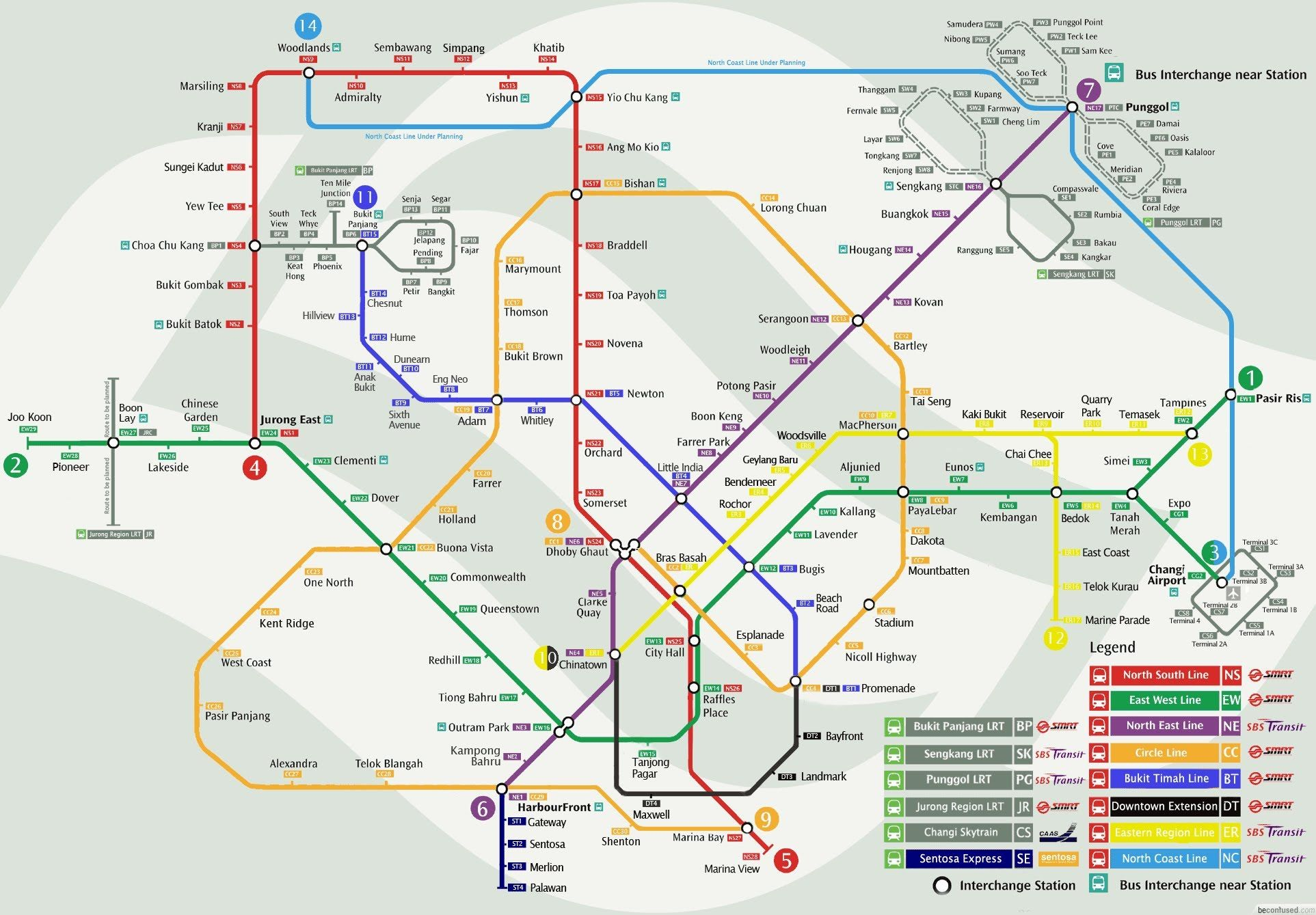 Pretty nice 20 MRT Maps of Singapore MRT network map Check more at