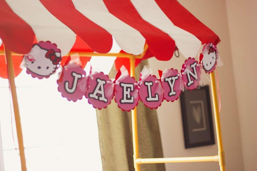 Hello Kitty Birthday Party Ideas | Photo 3 of 30 | Catch My Party