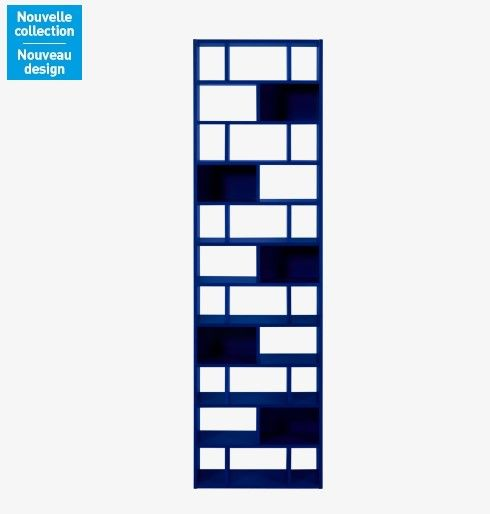 Cleo Range CD-DVD bleu indigo Habitat | Meubles pas Cher ...