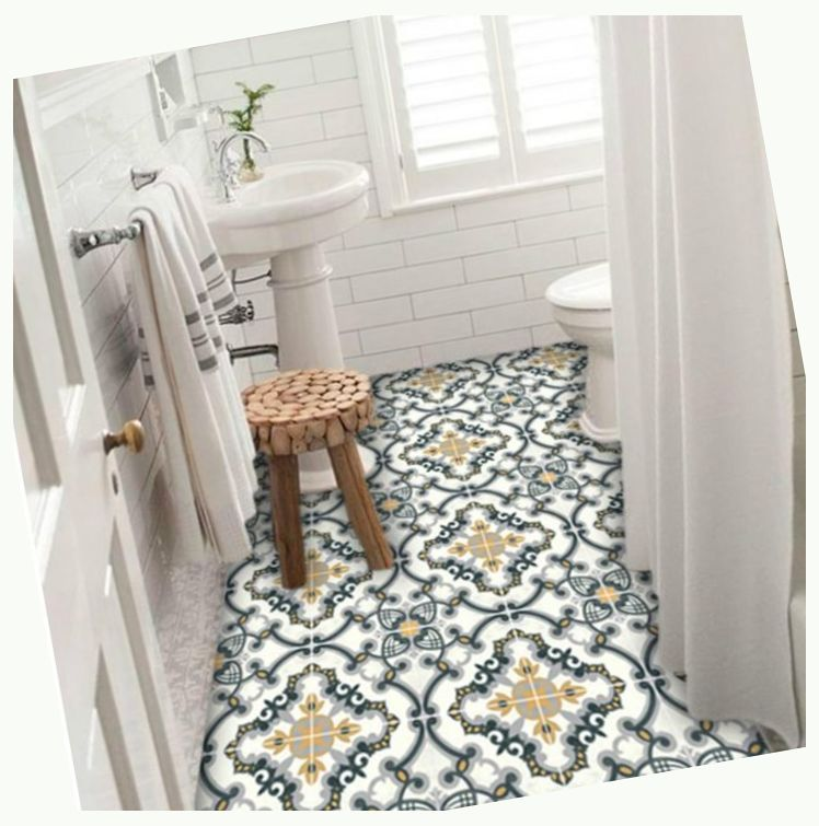 Bathroom Floor Remodel Different Styles And Material Bathroom Remodel Small Bathroom Storage Floor Decal Floor Stickers