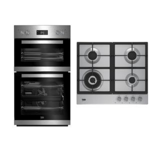 Beko Double Oven Gas Hob Packinox Products In 2019 Gas